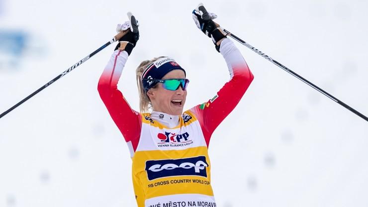 PŚ w biegach: Johaug wygrała z dużą przewagą w Czechach