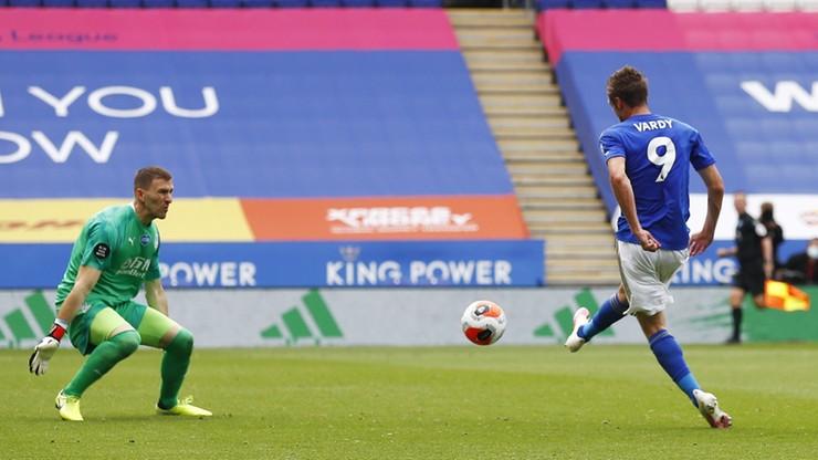 Premier League: 101 goli Vardy'ego, przełamanie Leicester City