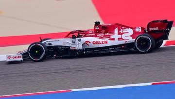 Formuła 1: Robert Kubica 13. na pierwszym treningu w Bahrajnie