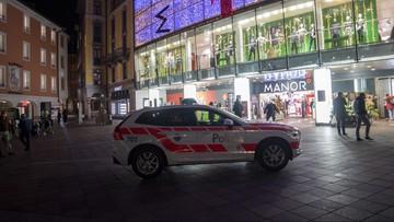 Szwajcaria: atak w centrum handlowym. Policja nie wyklucza aktu terroru