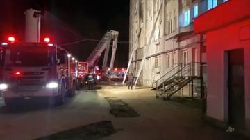Rumunia: pożar w szpitalu. Nie żyją chorzy na COVID-19 [WIDEO]
