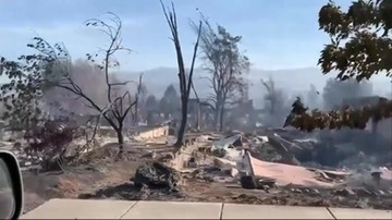 Pożary w Oregonie. Ogień pustoszy miasta