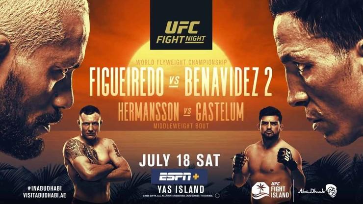 UFC Figueiredo - Benavidez 2: Transmisja w Polsacie Sport