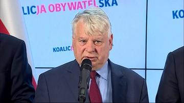 Borusewicz do PiS: zrezygnujcie z posiedzenia w Senacie. Karczewski odpowiada