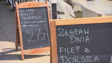 Rekordowe rachunki za obiad nad morzem. Para zapłaciła 250 zł za dwie ryby