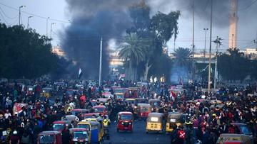 Atak na Zieloną Strefę w Bagdadzie. Rakiety spadły blisko ambasady USA
