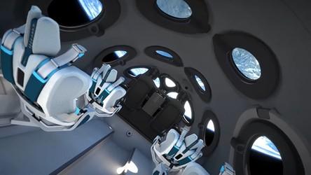 Virgin Galactic ujawniło wnętrze statku kosmicznego VSS Unity. Wygląda pięknie [FILM]
