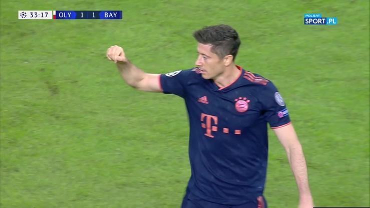 Lewandowski znowu strzela! Gol w meczu z Olympiakosem