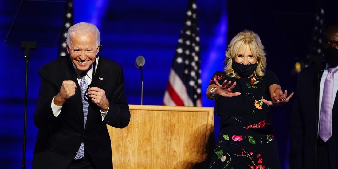 Pracująca pierwsza dama. Nietuzinkowa i uparta Jill Biden