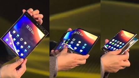Pierwszy na świecie składany smartfon doczekał się swojego następcy [FILM]