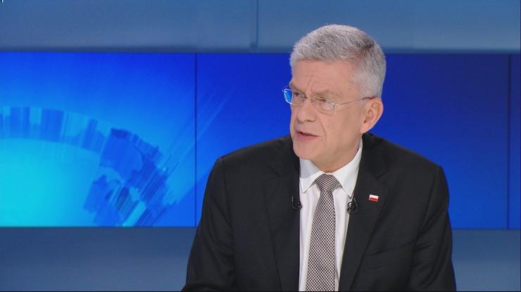 Karczewski: sprawy wymiaru sprawiedliwości powinny rozstrzygać się w polskim parlamencie