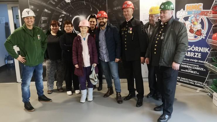 Greta Thunberg spotkała się z górnikami kopalni Makoszowy. Usłyszała, że  zakład nie generuje CO2