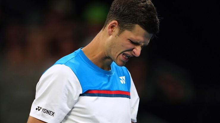 Australian Open: Hurkacz odpadł już po drugim meczu