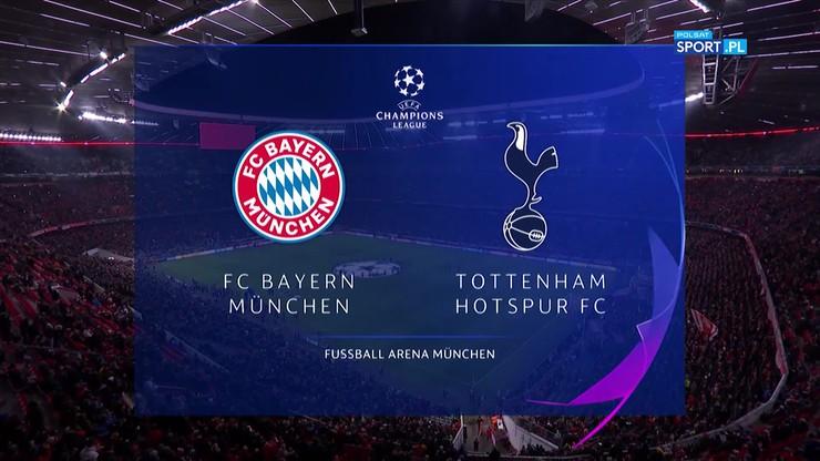 Bayern Monachium - Tottenham Hotspur 3:1. Skrót meczu