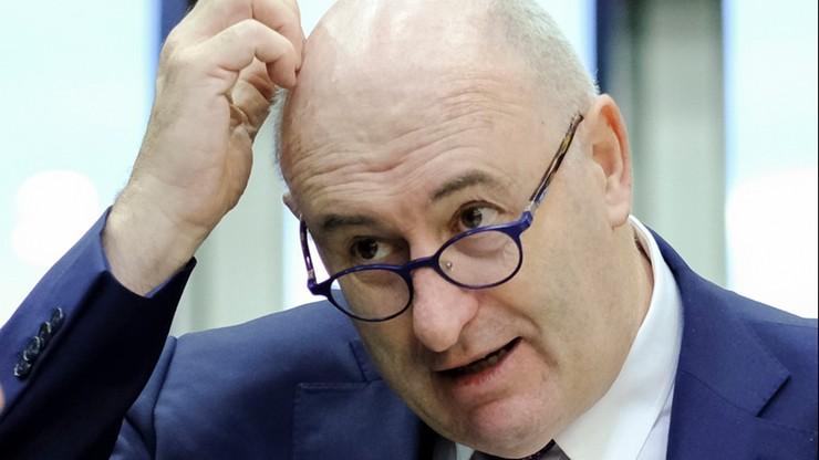 Unijny komisarz rezygnuje ze stanowiska. Złamał restrykcje