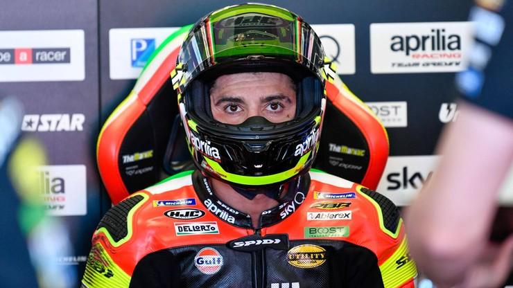 Motocyklowe MŚ: Andrea Iannone musi poczekać na orzeczenie CAS