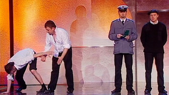 Kabaret Młodych Panów - Policjanci: pijani