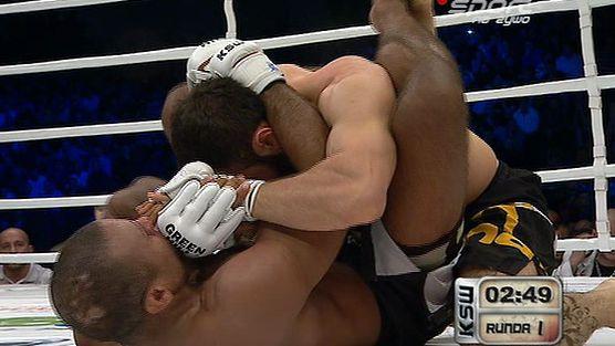 Vitor Nobrega vs. Aslambek Saidov - Walka o Pas federacji KSW w kategorii wagowej do 85 kg