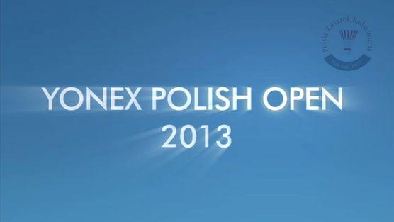 Yonex Polish Open 2013 - wywiad z Kamilem Jędrysem i Pauliną Kaczorowską