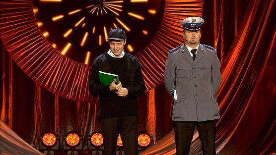 Kabaret Młodych Panów - Policjanci na Euro