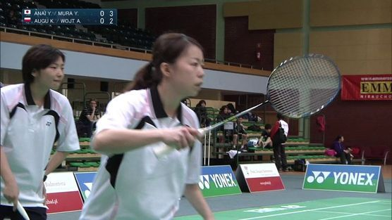 Yuki Anai-Yumi Murayama (JPN) - Kamila Augustyn-Agnieszka Wojtkowska (POL)