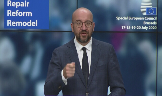 Przewodniczący Rady Europejskiej Charles Michel o powiązaniu budżetu z praworządnością