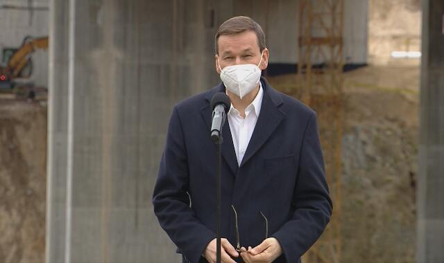 Premier Mateusz Morawiecki o budowie dróg w Polsce