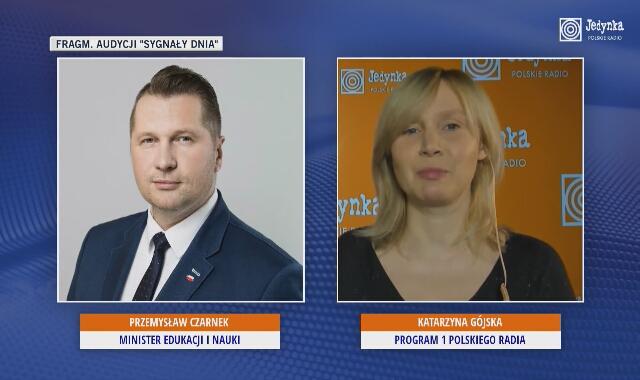 Minister Czarnek w radiu o tym, jaką większością wygrała Zjednoczona Prawica