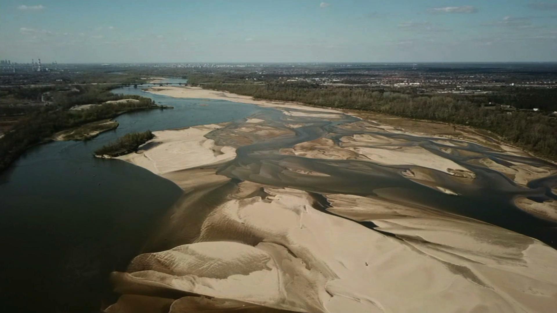 Polsce grozi latem susza. Niebezpiecznie niski stan wody w polskich rzekach