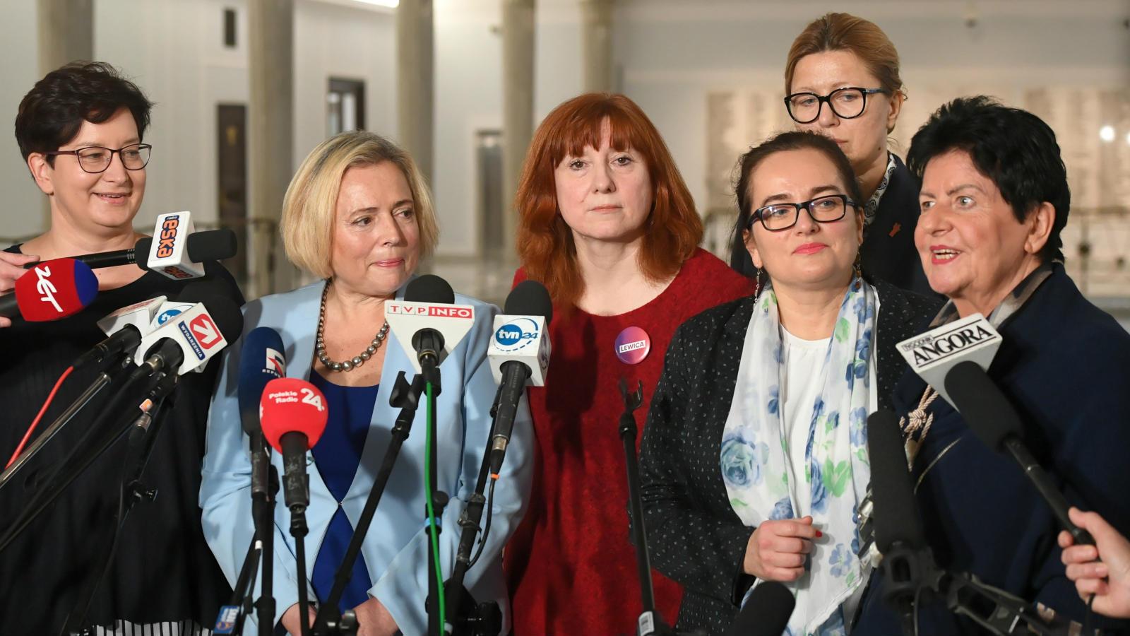 20.11.2019 | Posłanki u marszałkini. Chcą wprowadzenia żeńskich końcówek