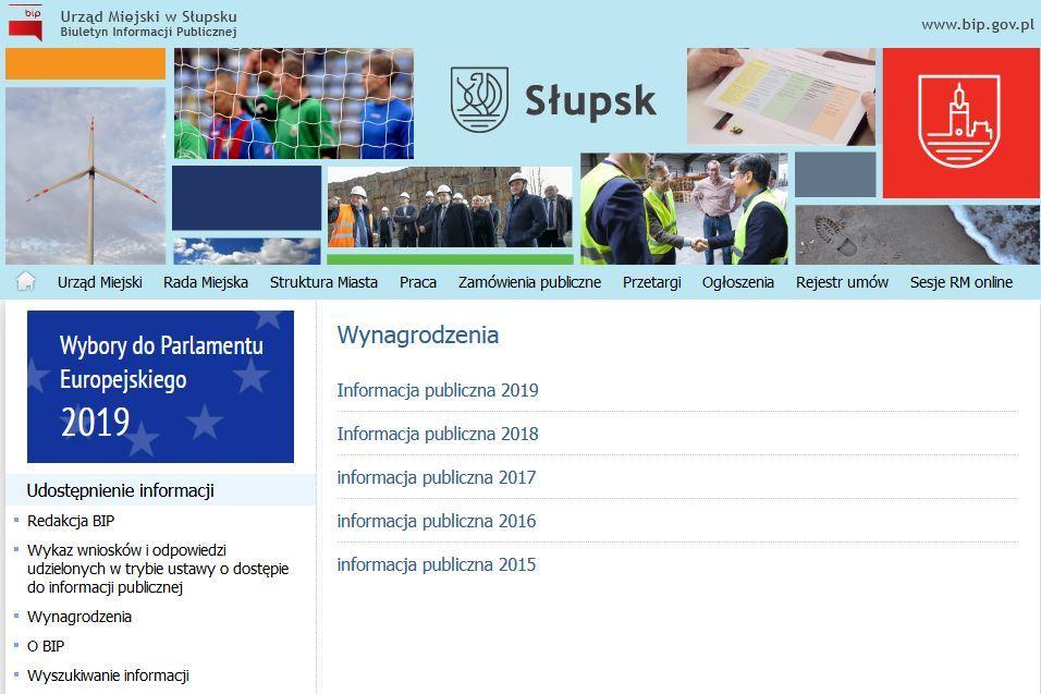 Wnioski o informację publiczną