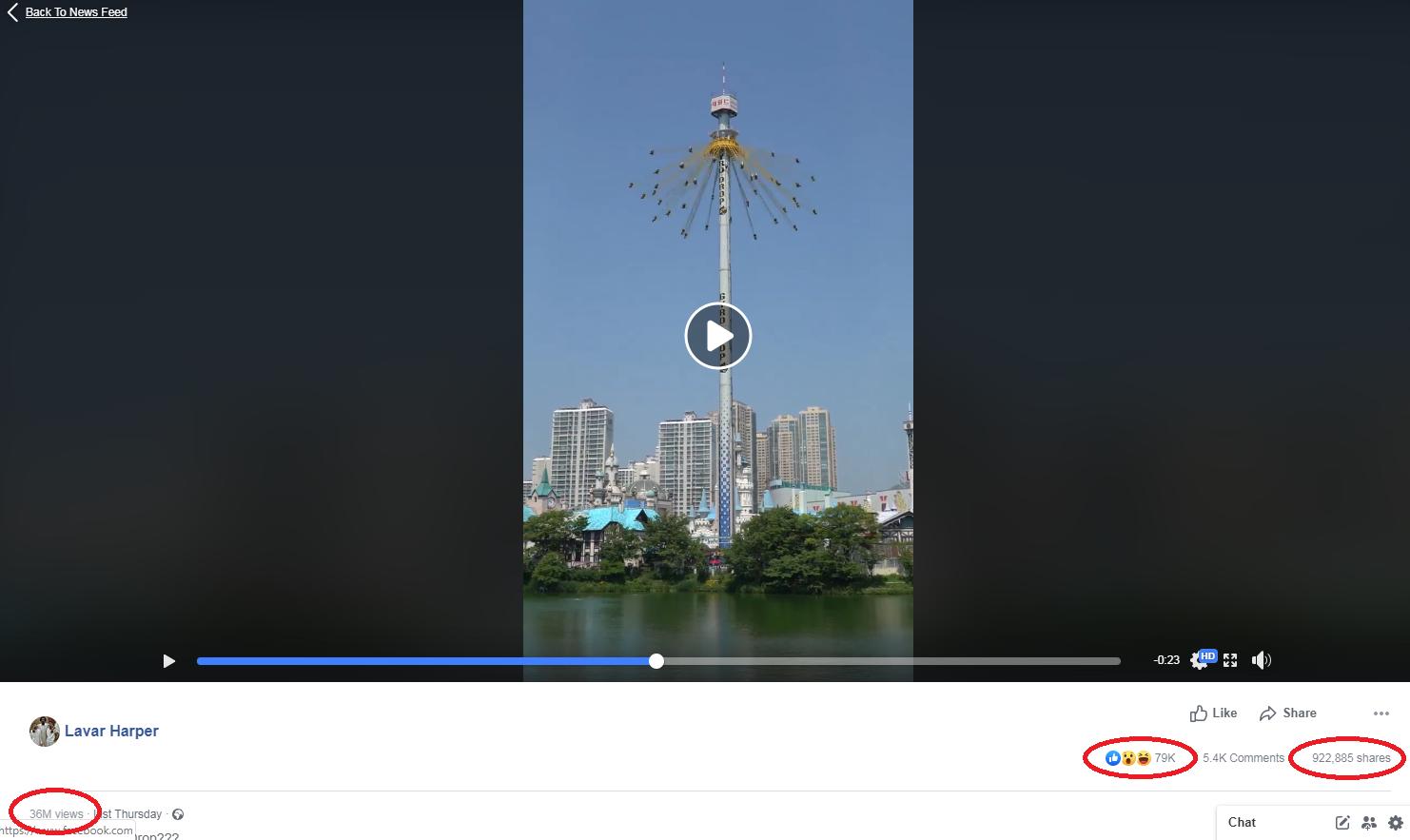 Nagranie jest niezwykle popularne w internecie