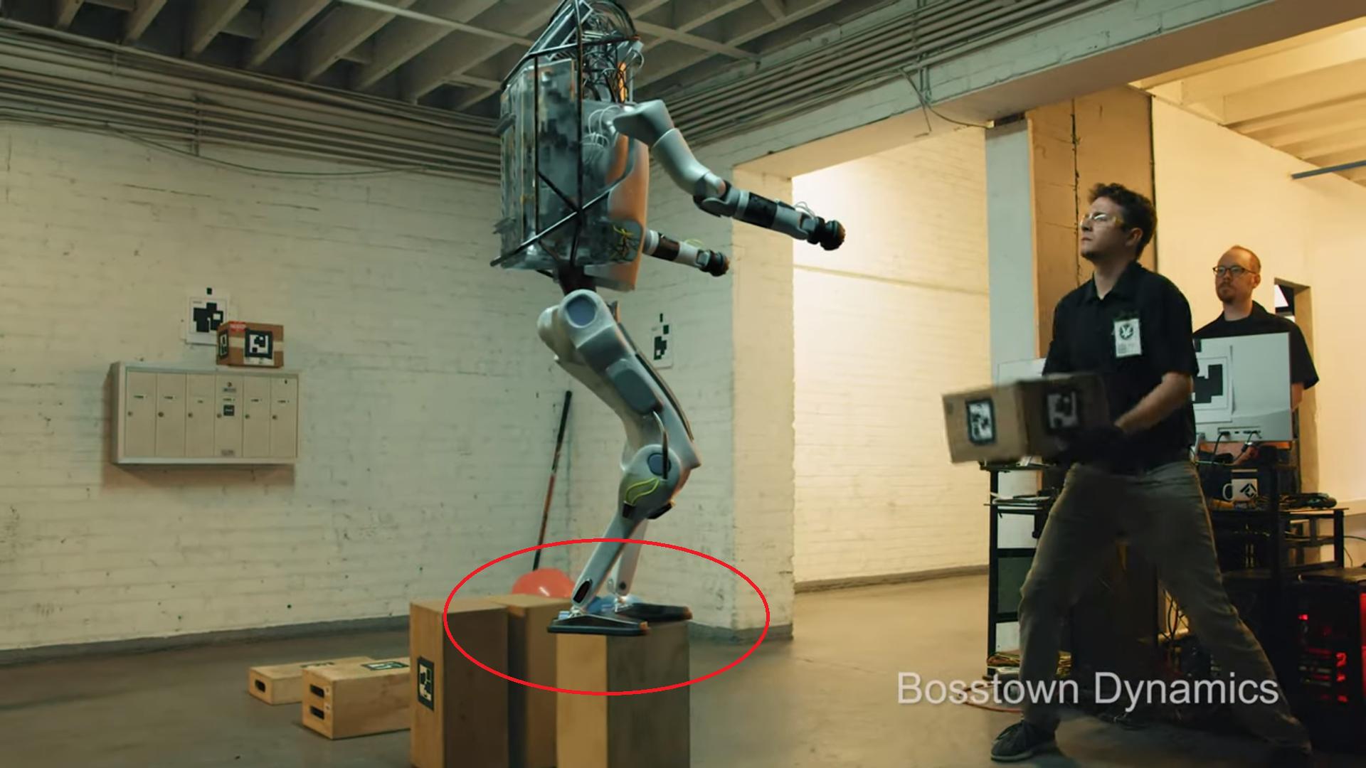 Błąd w nakładaniu robota na realne nagranie