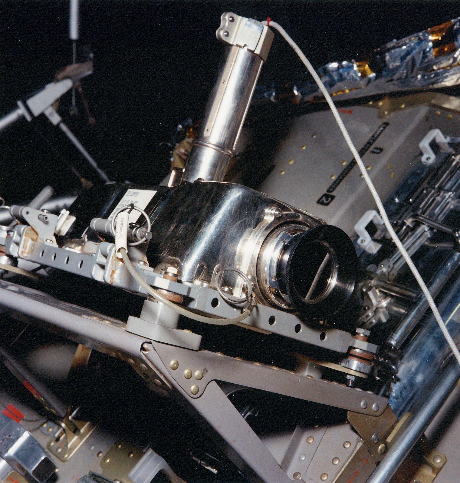 Apollo Lunar Television Camera była zainstalowana na module Apollo 11