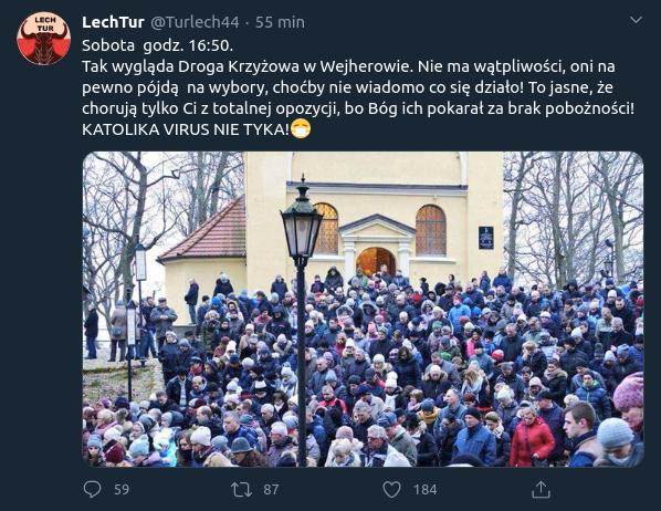 Fake news o drodze krzyżowej na wzgórzach Kalwarii Wejherowskiej