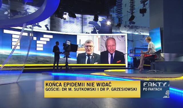 """Dr Paweł Grzesiowski: """"Endemia wirusa COVID-19 jest naszym udziałem"""""""