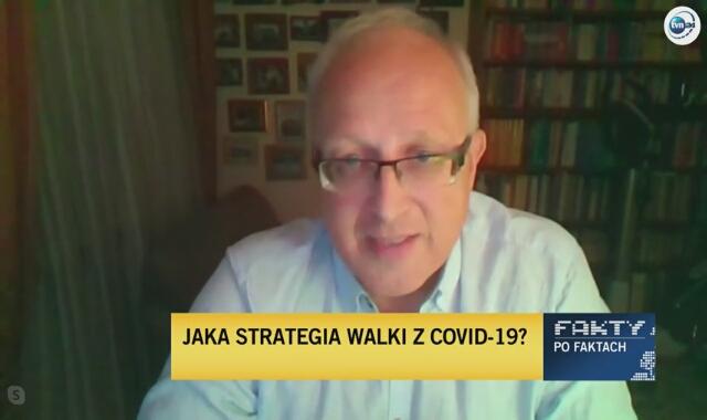 Profesor Flisiak: można było pewne rzeczy robić lepiej, ale nie byliśmy w stanie przewidzieć, że będzie aż taki rozmiar nasilenia epidemii