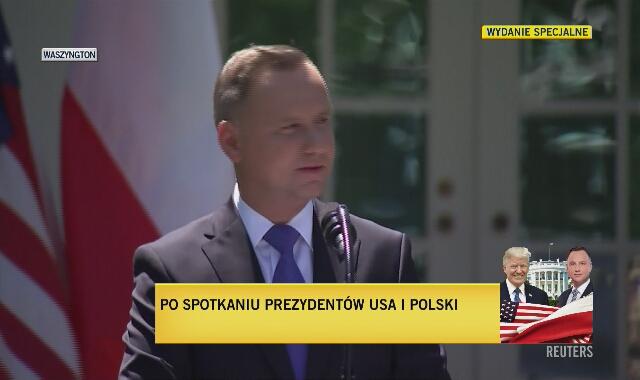 Andrzej Duda o perspektywie stosunków polsko-rosyjskich