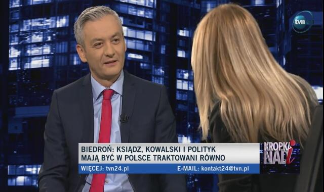 Robert Biedroń wyjaśnia zasady finansowania partii Wiosna
