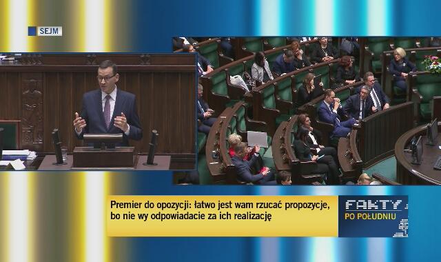 Premier Morawiecki o służbie zdrowia