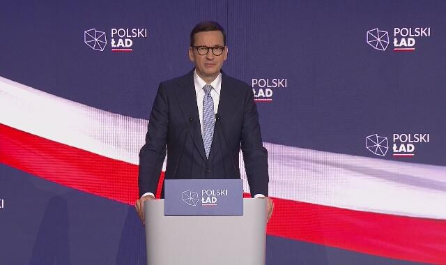 Premier Morawiecki prezentował stan realizacji 10 projektów na 100 dni