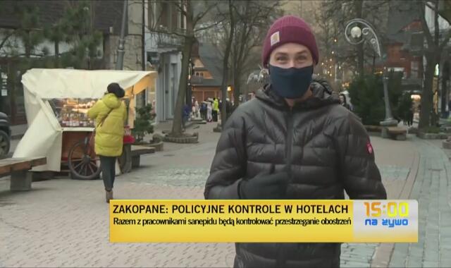Policyjne kontrole w zakopiańskich hotelach