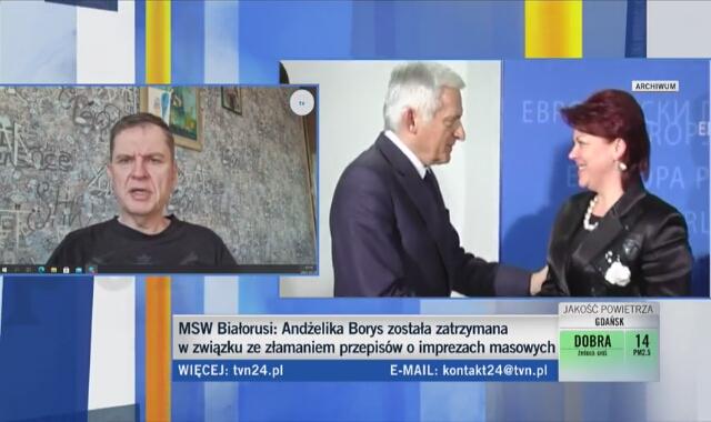Andrzej Poczobut o aresztowaniu Andżeliki Borys