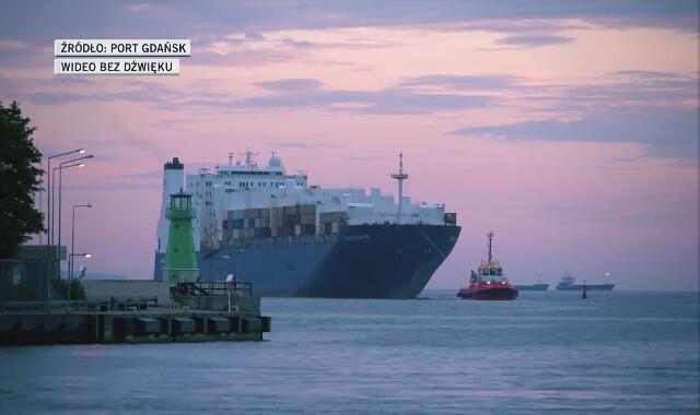 Amerykański sprzęt wojskowy przypłynął do Gdańska