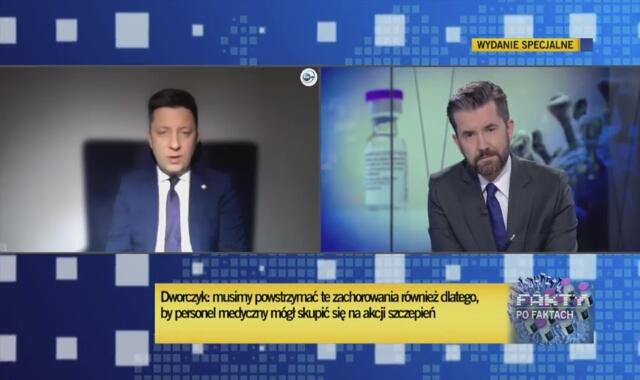 Szef kancelarii premiera Michał Dworczyk o obostrzeniach w Sylwestra